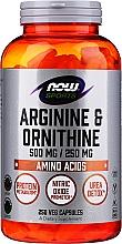 "Духи, Парфюмерия, косметика Аминокислоты ""L-аргинин и орнитин"" - Now Foods L-Arginine & Ornithine"