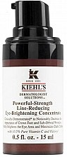 Parfumuri și produse cosmetice Concentrat anti-rid pentru zona din jurul ochilor - Kiehl's Dermatologist Solutions Powerful Strength Line Reducing Eye Brightening Concentrate