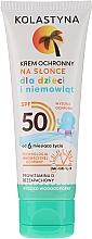 Parfumuri și produse cosmetice Cremă de protecție pentru copii SPF 50 - Kolastyna