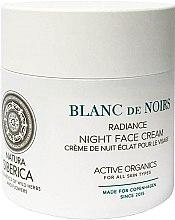 Parfumuri și produse cosmetice Cremă pentru față de noapte - Natura Siberica Copenhagen Blanc de Noirs Radiance Night Face Cream
