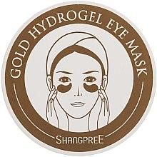 Parfumuri și produse cosmetice Mască hidrogel pentru conturul ochilor - Shangpree Gold Hydrogel Eye Mask