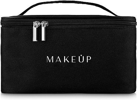 Trusă pentru călătorii, neagră (22 x 16 x 13 cm) - MakeUp