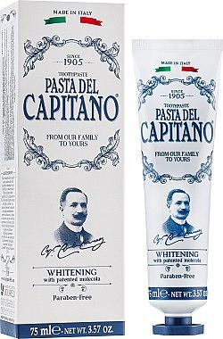 """Pastă de dinți """"Albire"""" - Pasta Del Capitano Whitening Toothpaste — Imagine N2"""