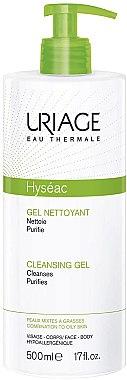 Gel de spălare - Uriage Hyseac Gel Nettoyant