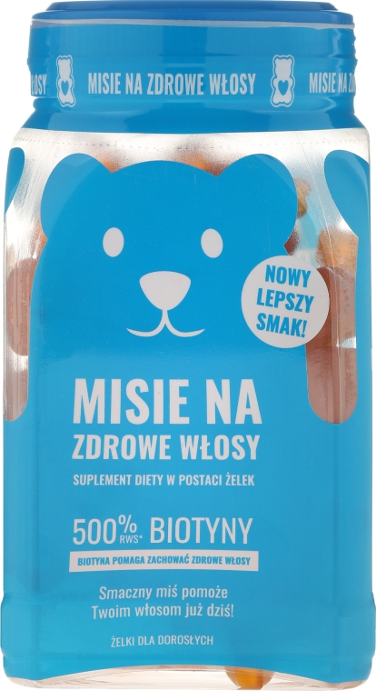 Vitamine pentru păr - Noble Health Misie For Hair