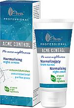 Parfumuri și produse cosmetice Cremă de față - Ava Laboratorium Acne Control Professional No More Nightmares Normalising Night Cream