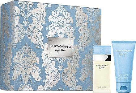 Dolce & Gabbana Light Blue - Set (edt/25ml + b/cr/50ml)
