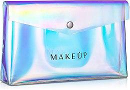 """Parfumuri și produse cosmetice Trusă cosmetică """"Holographic"""", 23x13x3cm, transparentă - MakeUp"""