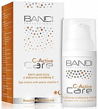 Parfumuri și produse cosmetice Cremă cu Vitamina C pentru zona din jurul ochilor - Bandi Professional C-Active Eye Cream With Active Vitamin C