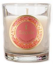 """Parfumuri și produse cosmetice Lumânare aromatică """"Iasomie și Caramel"""" - Flagolie Fragranced Candle Jasmine And Caramel"""