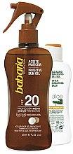 Parfumuri și produse cosmetice Set - Babaria Sun (b/oil/200ml + balm/100ml)