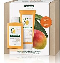 Parfumuri și produse cosmetice Set - Klorane Mango (shm/200ml + balm/200ml)
