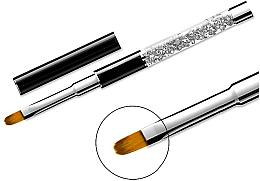 Parfumuri și produse cosmetice Pensulă pentru manichiură 11, ovală - Elisium