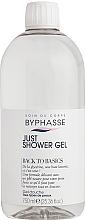 Parfumuri și produse cosmetice Gel de duș pentru toate tipurile de piele - Byphasse Back To Basics Just Shower Gel