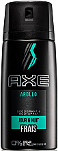Parfumuri și produse cosmetice Deodorant-spray, fără aluminiu - Axe Apollo Daily Fragrance Deodorant Body Spray
