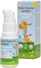 Parfumuri și produse cosmetice Ulei organic împotriva răcelilor - Azeta Bio Organic Essential Cold Relief