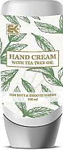 """Parfumuri și produse cosmetice Cremă de mâini """"Arbore de ceai"""" - Brazil Keratin Hand Cream With Tea Tree Oil"""