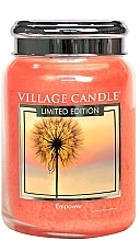 Parfumuri și produse cosmetice Ароматическая свеча в банке - Village Candle Empower