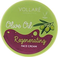 Parfumuri și produse cosmetice Cremă de față cu ulei de măsline - Vollare Regenerating Olive Oil Face Cream