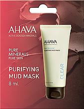 Parfumuri și produse cosmetice Mască de față - Ahava Time To Clear Purifying Mud Mask (mostră)