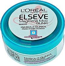 Parfumuri și produse cosmetice Mască pentru păr normal și cu tendința de îngrășare - L'Oreal Paris Elseve Extraordinary Clay Mask