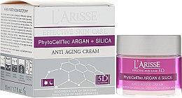 Parfumuri și produse cosmetice Cremă anti-rid cu celule stem de argan și silicon 70+ - Ava Laboratorium L'Arisse 5D Anti-Wrinkle Cream Stem Cells & Silica