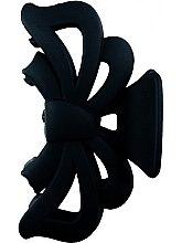 Parfumuri și produse cosmetice Agrafă de păr 25662, neagră - Top Choice