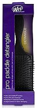 Parfumuri și produse cosmetice Pieptene pentru păr, neagră - Wet Brush Pro Paddle Detangler Black