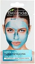 Parfumuri și produse cosmetice Mască cu conținut de metale pentru pielea uscată și sensibilă - Bielenda Blue Detox