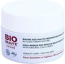 Parfumuri și produse cosmetice Balsam pentru față și corp - Nuxe Bio Beaute High Nutrition SOS Rescue Balm