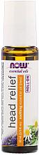 Parfumuri și produse cosmetice Ulei împotriva durerii de cap, roll-on - Now Foods Essential Oils Head Relief Roll-On