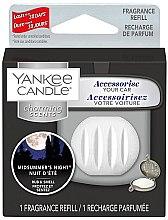Parfumuri și produse cosmetice Aromatizator auto (rezervă) - Yankee Candle Charming Scents Refill Midsummers Night