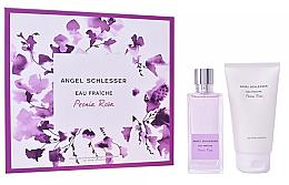 Parfumuri și produse cosmetice Angel Schlesser Eau Fraiche Peonia Rosa - Set (edt/100ml+shw/gel/150)