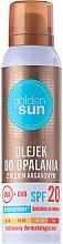 Parfumuri și produse cosmetice Ulei cu extract de argan pentru bronz - Golden Sun SPF 20
