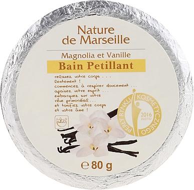 Bombă de baie cu magnolie și vanilie - Nature de Marseille Magnolias&Vanilla — Imagine N1