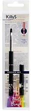 Parfumuri și produse cosmetice Pensulă pentru aplicarea gelului, 6 - KillyS Art Of Nails Brush
