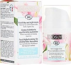 Parfumuri și produse cosmetice Cremă de zi pentru față cu extract de crin pentru piele normală și combinată - Coslys Facial Care Facial Day CreamWith Lily Extract