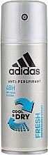 Parfumuri și produse cosmetice Deodorant - Adidas Anti-Perspirant Fresh Cool Dry 48h