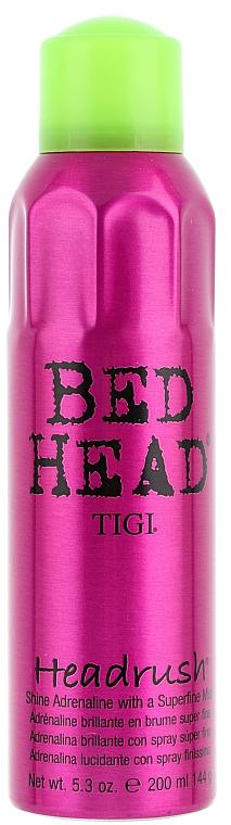 Интенсивный блеск для волос - Tigi Bed Head Biggie Headrush Hair Spray
