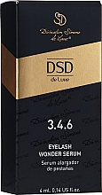 Parfumuri și produse cosmetice Ser pentru creșterea genelor №3.4.6 - Divination Simone De Luxe DSD Eyelash Wonder Serum
