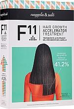 Parfumuri și produse cosmetice Set - Nuggela & Sule F11 Hair Growth Accelerating Treatment (shm/250ml+ser/70ml)
