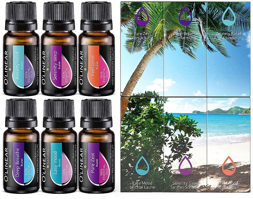 Set - O`linear Natural Essential Oils (oil/6x10ml)