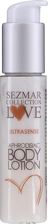 Loțiune de corp - Hristina Cosmetics Sezmar Love Ultrasense Aphrodisiac Body Lotion (mini)