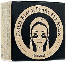 Parfumuri și produse cosmetice Mască hidrogel cu pudră de perle negre pentru conturul ochilor - Shangpree Gold Hydrogel Eye Mask