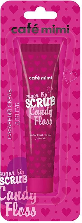 Scrub de zahăr pentru buze - Cafe mimi Scrub Candy Floss