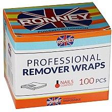 Parfumuri și produse cosmetice Folie pentru înlăturarea gel-lacului - Ronney Professional Remover Wraps