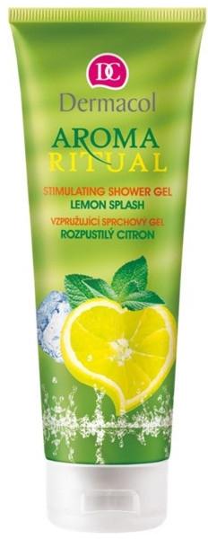 "Gel de duș ""Lămâie revigorantă"" - Dermacol Aroma Ritual Shower Gel Lemon Splash — Imagine N1"