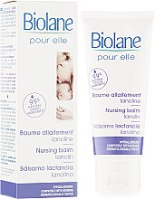 Parfumuri și produse cosmetice Balsam de protecție pentru mameloane - Biolane Mum Lanolin Nursing Balm