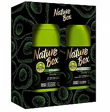 Parfumuri și produse cosmetice Set - Nature Box Avocado Oil (shmp/385ml + cond/385ml)