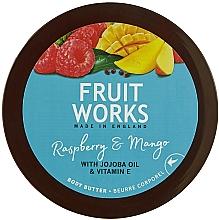 Parfumuri și produse cosmetice Ulei de corp - Grace Cole Fruit Works Body Butter Raspberry & Mango